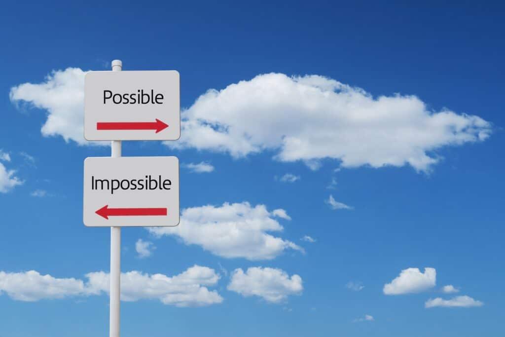 可能と不可能の選択