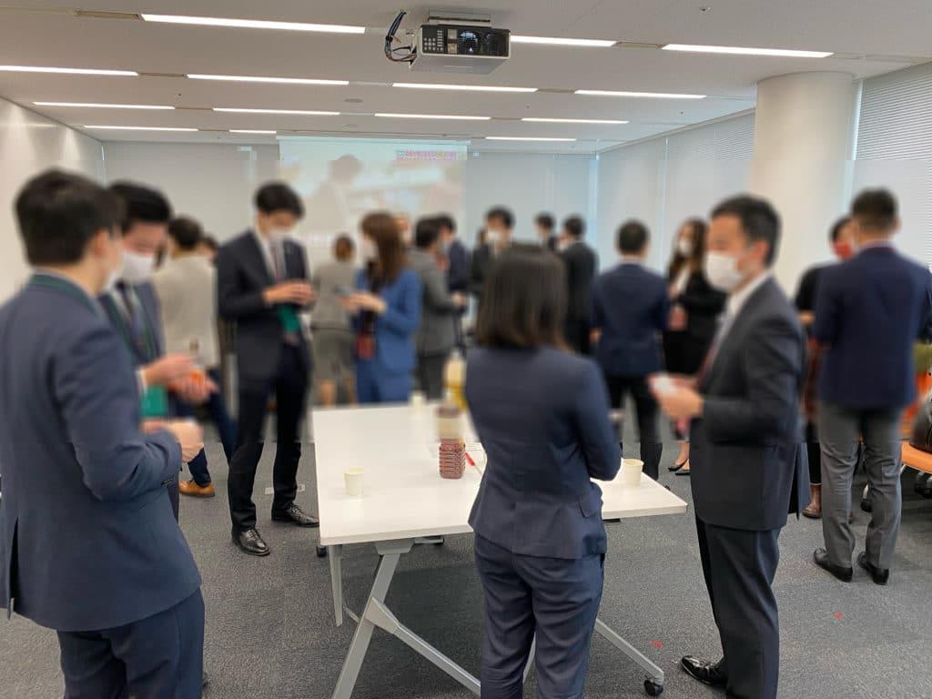 12/24に開催時の交流会参加者