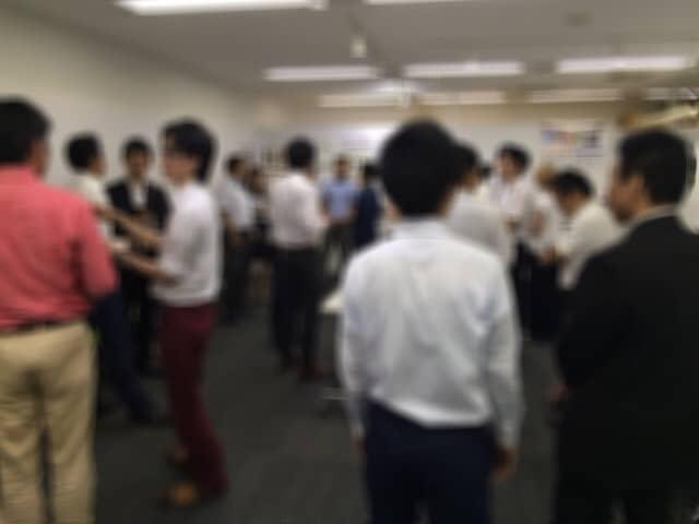 2015/7/29異業種交流会開催時の風景