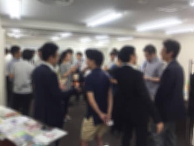 2015/8/22異業種交流会開催時の風景
